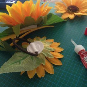 Sunflower headpiece