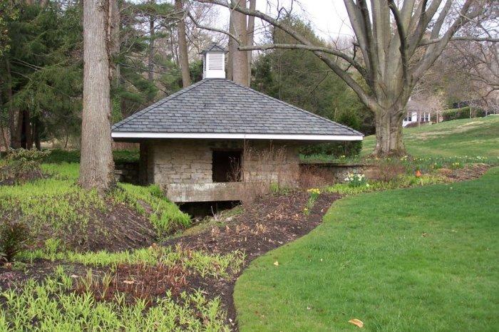 Nicholas Ruxton Moore springhouse
