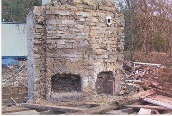 Bowen House fireplaces
