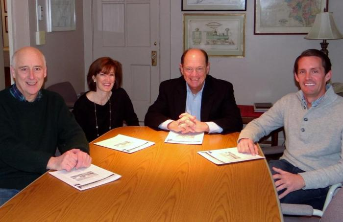 Joseph M. Coale, Sibley Classen, Tom Weadock and James Knott