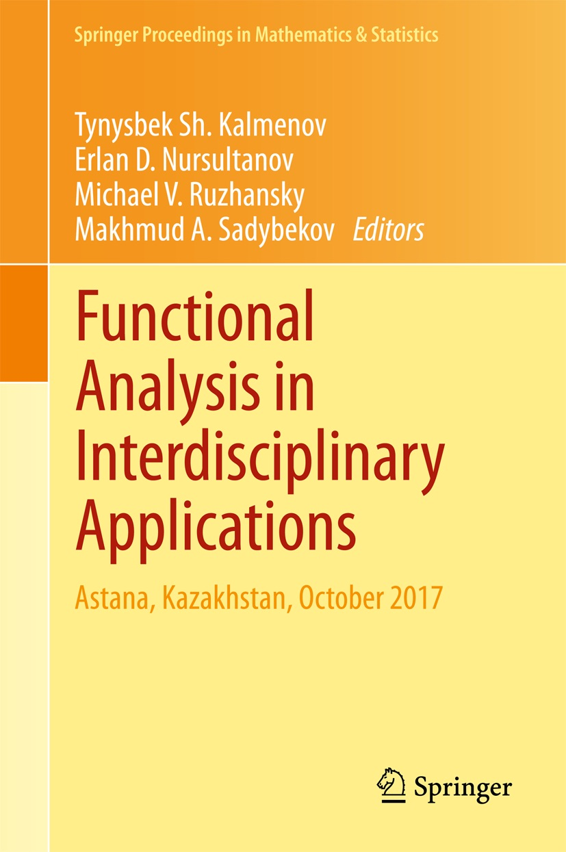 Functional Analysis in Interdisciplinary Applications – Michael ...