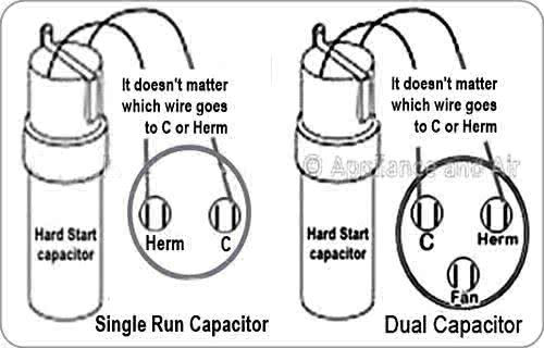 Run Capacitor Wiring Diagram Air Conditioner For Your Needs