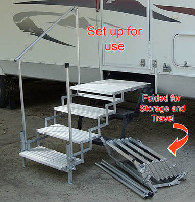 PortAStep  RVCo RV Steps  Decks