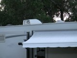 rv air conditioner outside view