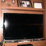 RV TV – Big Screen is Built in