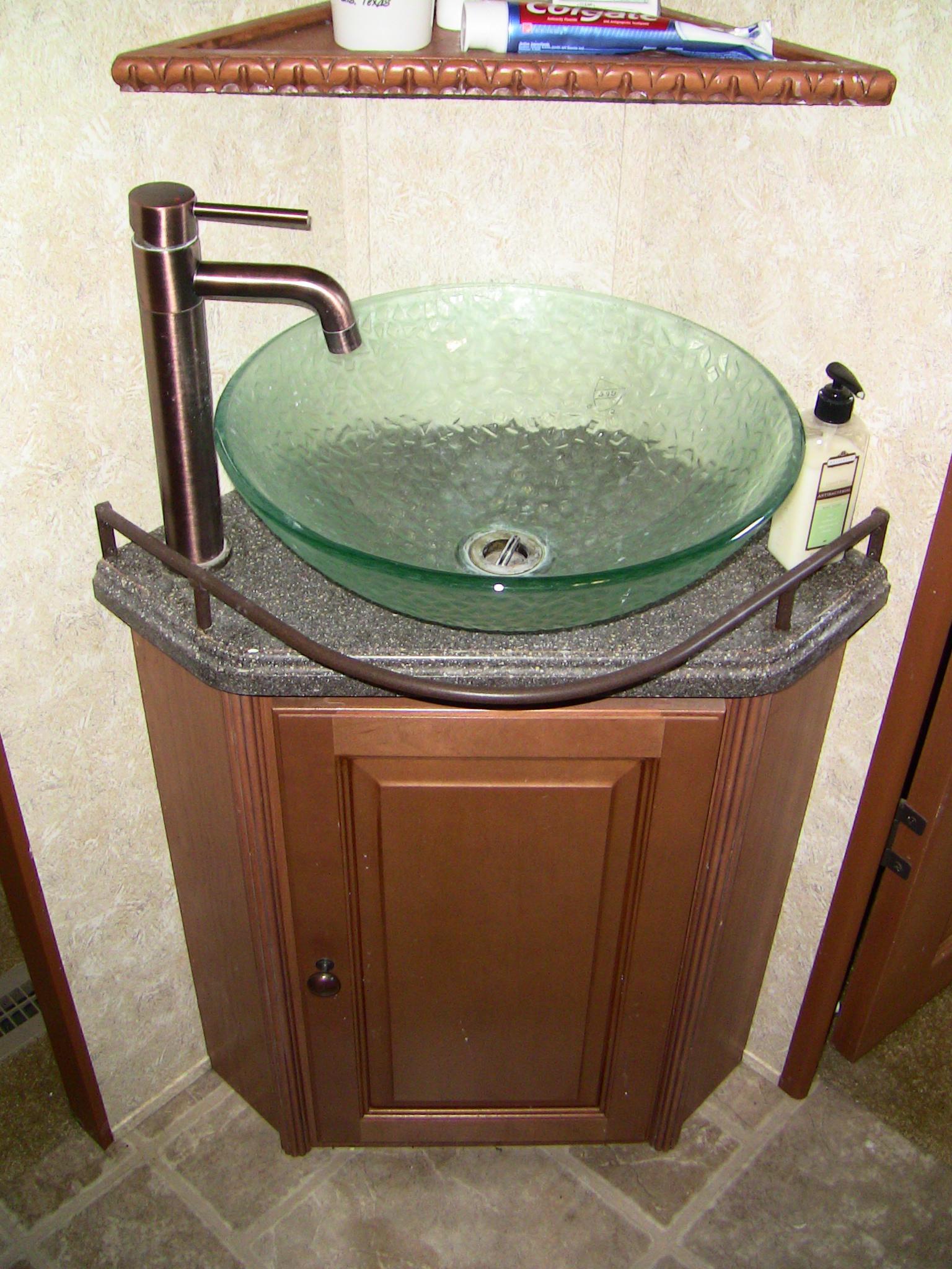 rv bathroom sink overview