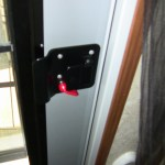 RV Door and Door latch