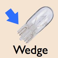 RV LED Light Wedge Style Base Selection Guide