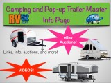 camping trailer and pop up trailer master info page