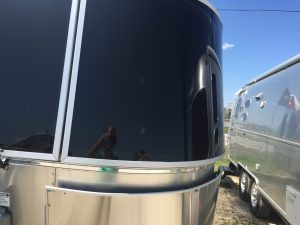 Airstream International Front Window Side View
