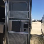 Airstream International Entry Doors All Open