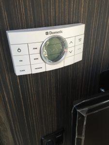 Airstream International Thermostat Closeup