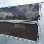 1952 Royal Spartanette Before ANY Restoration Work - passenger side window pair 2