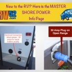 RV Shore Power or Electrical Connector – Fifth Wheel Pictorial Guide