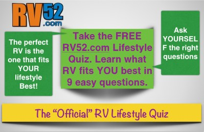 RV Lifestyle Quiz to Help You Select An RV