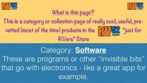 RV52 Vetted Software & Media