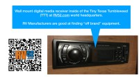 RV Home Theater System - Trick, Tips, Pointers, and ...