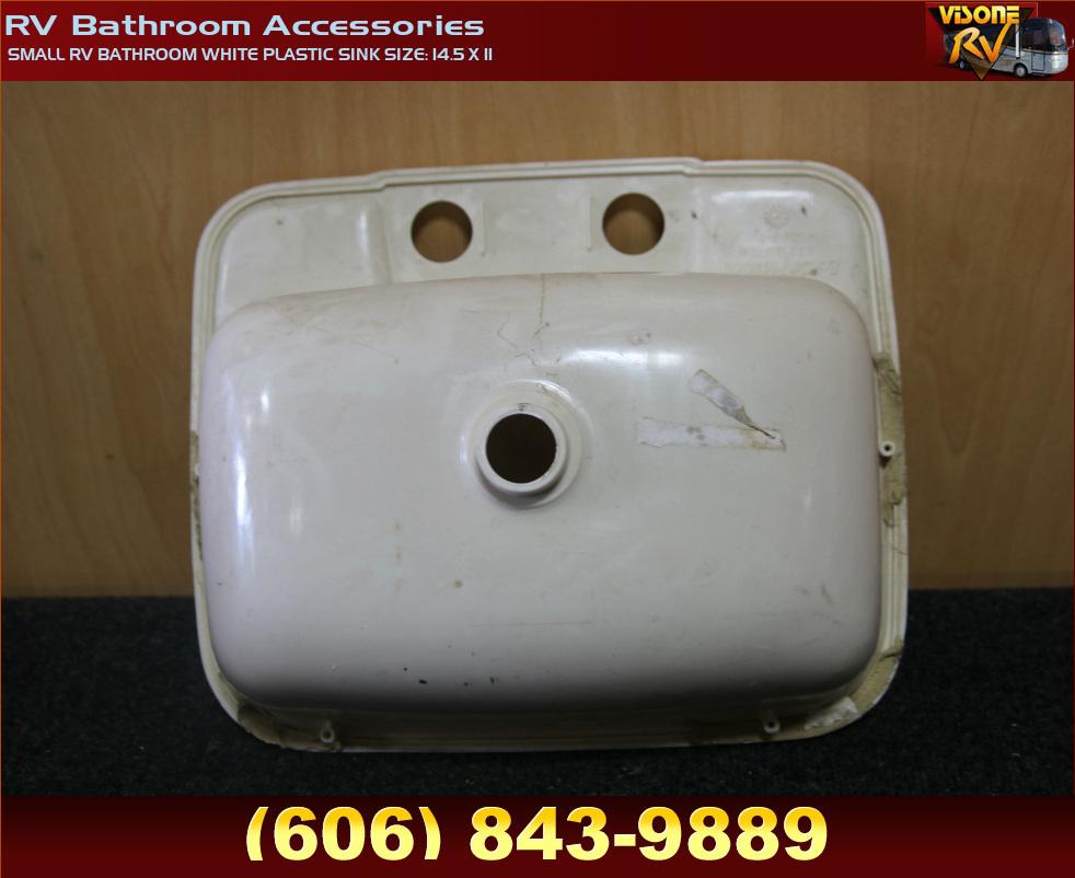 rv accessories small rv bathroom white