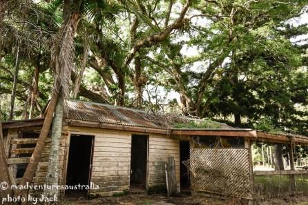 Old shed @ Coopernook SFR