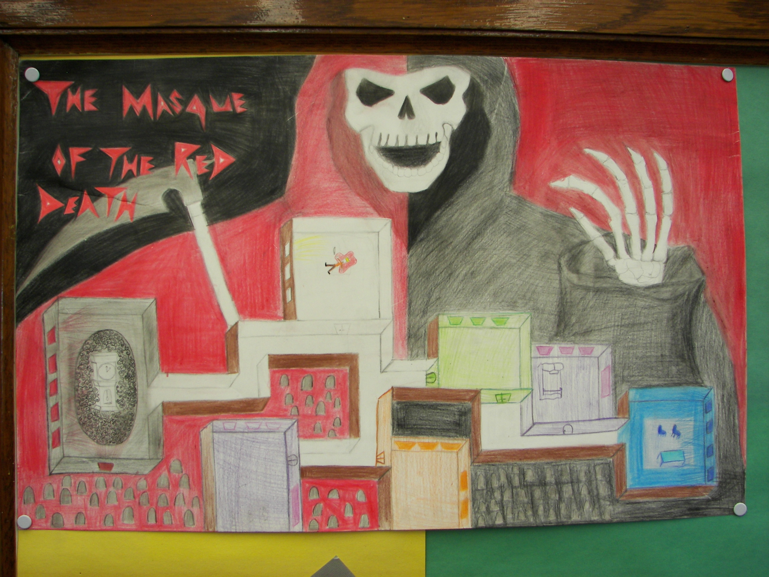 Gallery The Masque Of The Red Student Creative