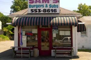 Sam's Burgers and Subs – feel free to lick your screen