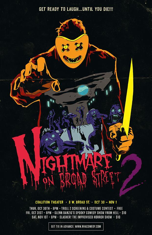 Broad Street Show : broad, street, Nightmare, Broad, Street, Brings, Trolls,, Glenn, Danzig, Buckets, Blood, Coalition, Theater, Weekend