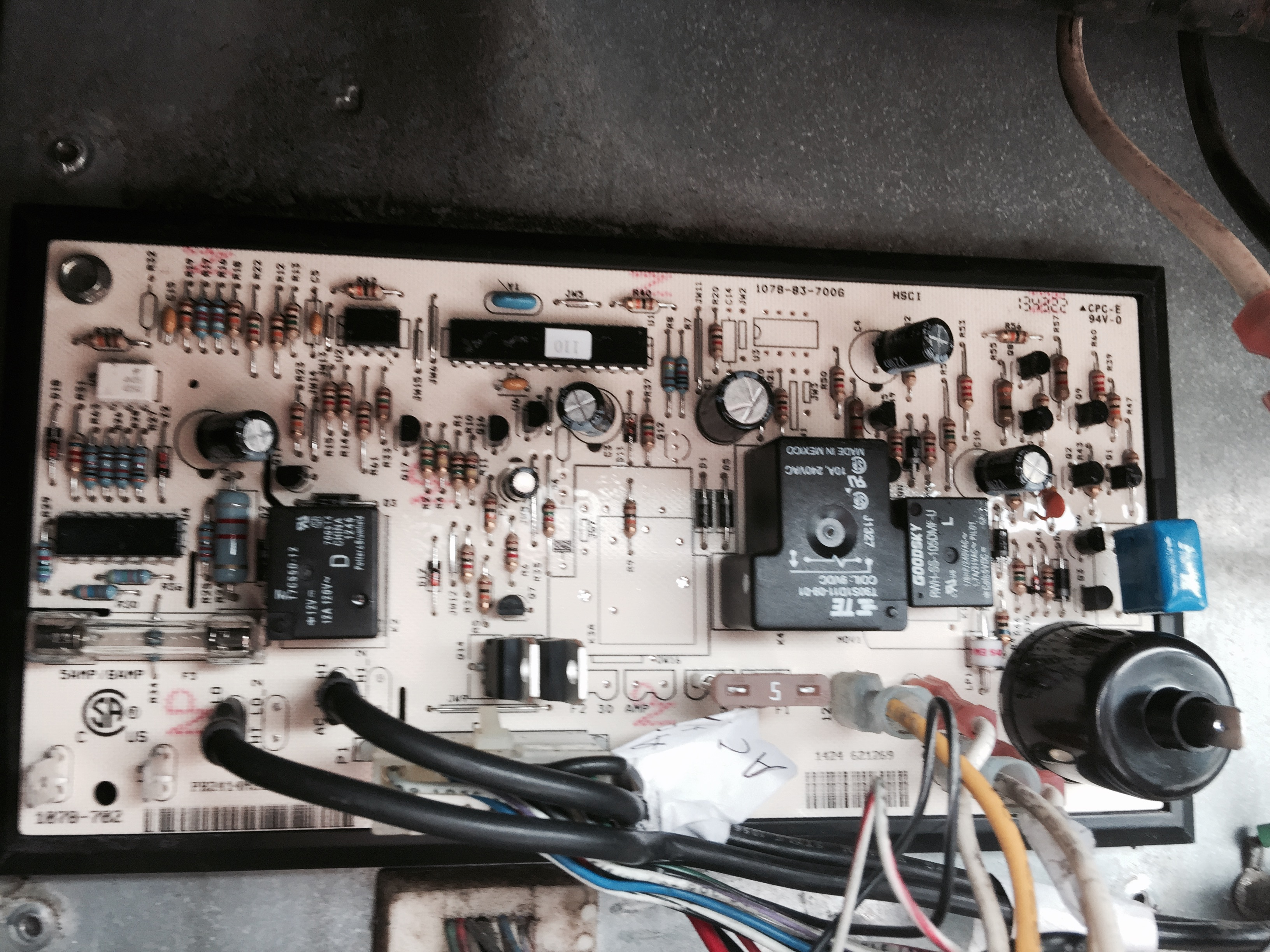 norcold fridge wiring diagram light and switch n821 ac