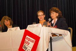 Podium Equal Pay Day