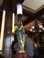 Old Ebbitt Grill gas lamp
