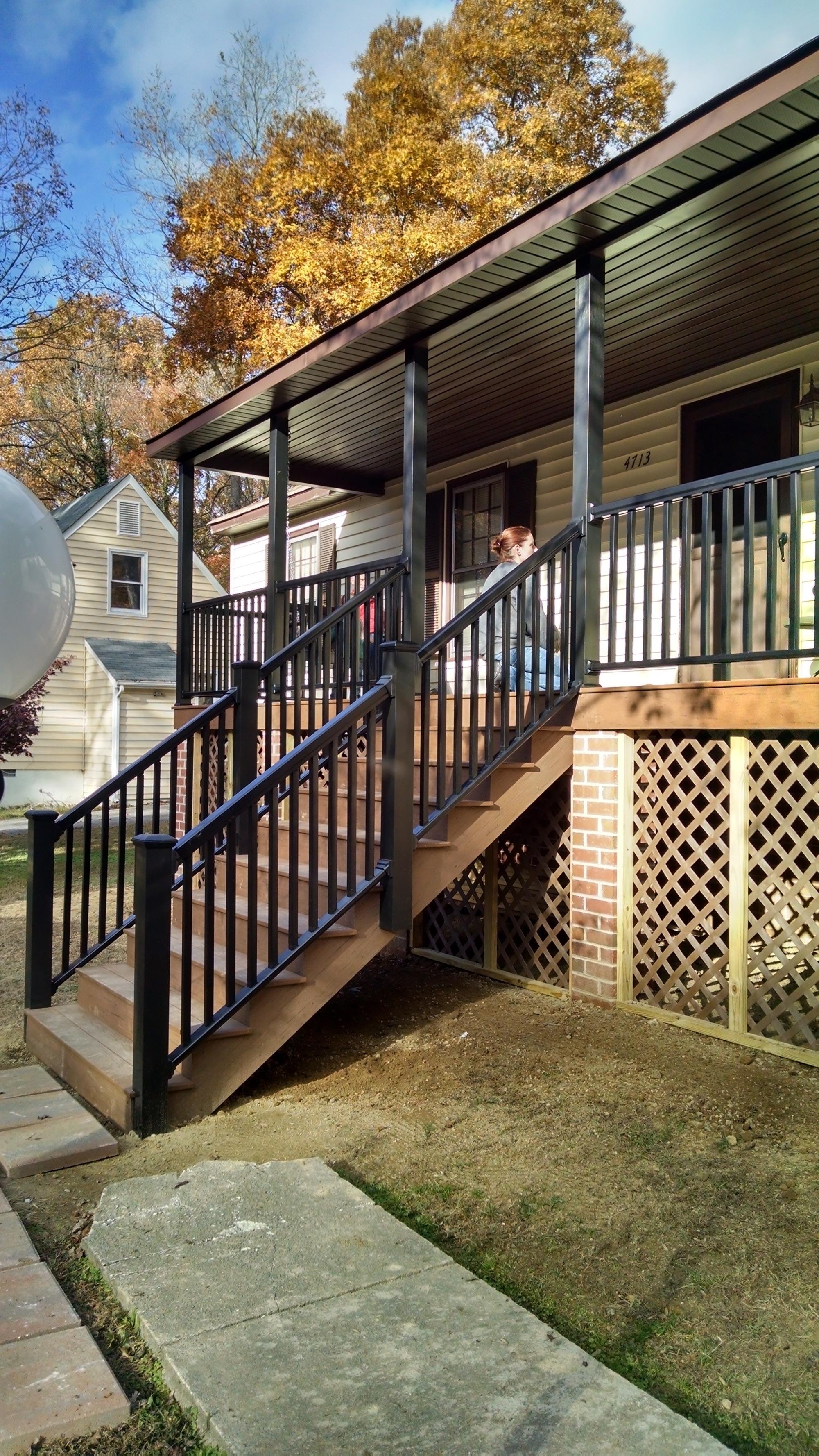 Screened Porch Railing Ideas