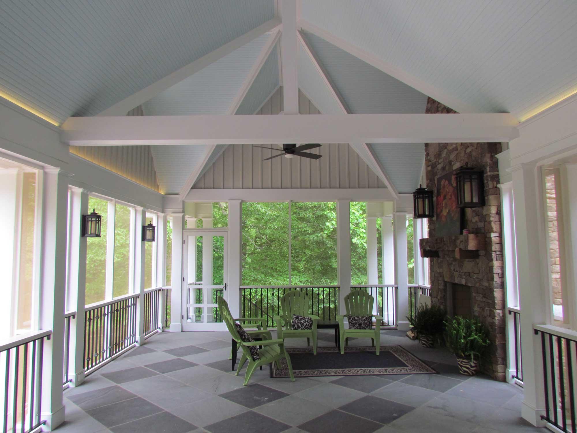 Porch Addition In Hanover Va Rva Remodeling Llc