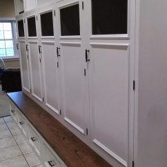 Kitchen Remodel Estimate Double Sink With Drainboard Mud Room Lockers - Reeds Landing | Rva Remodeling Llc