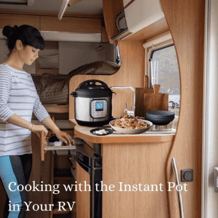 instant pot cooking in your rv