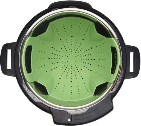 official instant pot accessories green steamer insert