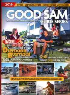 Good Sam Guide Series Book for Outdoor Adventure RV book