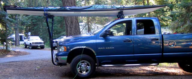 Kayak Rack Truck Fifth Wheel