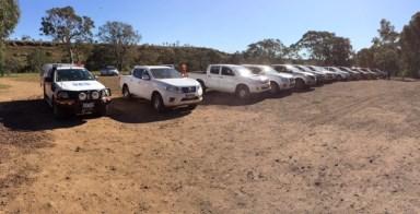 4WD testing