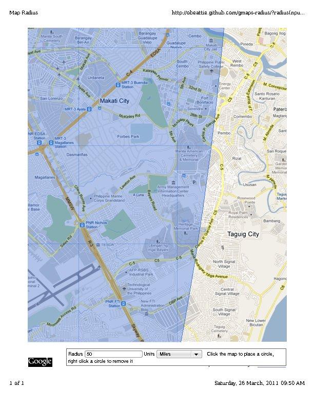 Bnpp Hypothetical 50 Mile 80 5 Km Radius Evacuation Zone