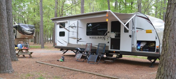 Pull Through Campsite Myrtle Beach KOA