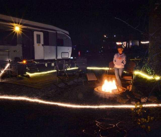 Rv Travel Campfire