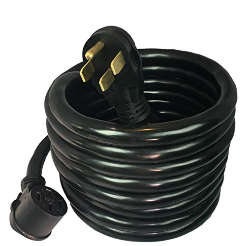 50 Amp 125 250v 8 Gauge Mpi Tools Nema 14 50 Power Cord 30 1 3 6 Gauge Conductor And
