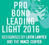 Pro Bono Leading Light 2016
