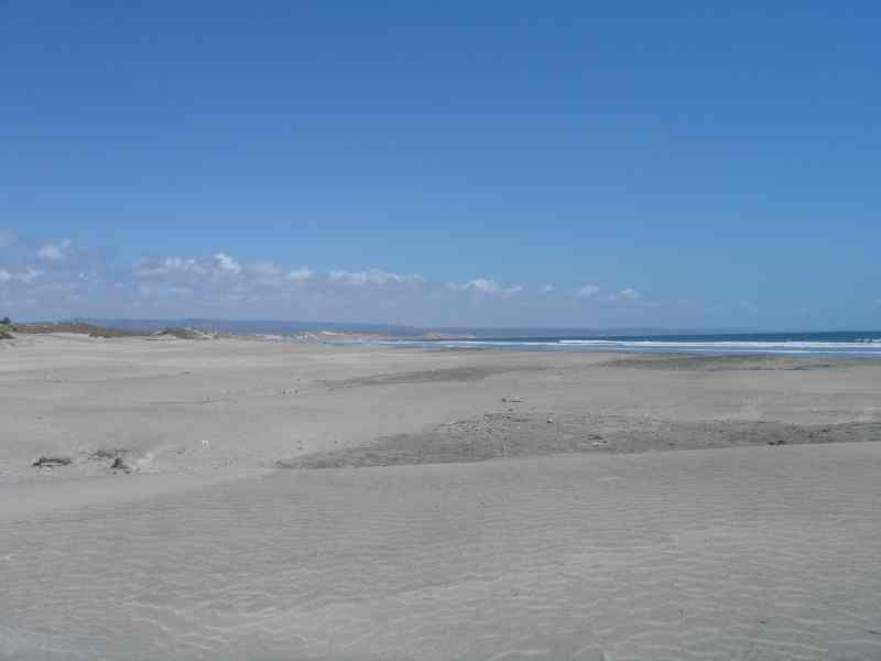 Fidel's El Pabellon Beach Looking South