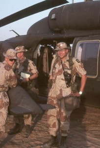 Paul H Smith during Desert Storm