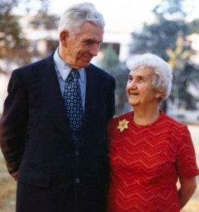 Sally's parents, J.B. and Louisa Rhine, founders of modern scientific parapsychology