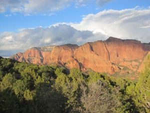 Kolob Canyon, near Cedar City, and a destination for remote viewing oriented field trips
