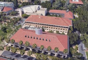 The Varian Physics Building at Stanford University