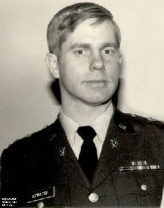 "F. Holmes ""Skip"" Atwater as a young military intelligence officer"