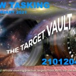 The Target Vault page is good place to practice during and after your remote viewing training