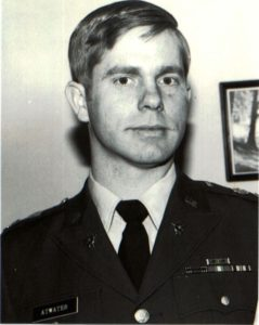 """F.Holmes """"Skip"""" Atwater about the time the Army RV program began"""
